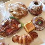 88797850 - 購入したパン