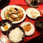 天津飯店 - 料理写真:八宝菜定食