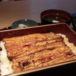 Unagikappoumaehara - 鰻重上(一匹)¥5,000