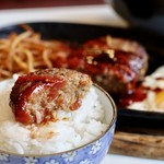 ミナミ - ハンバーグとご飯