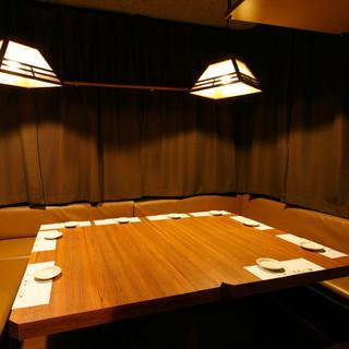 『個室宴会』様々な個室で非常に便利