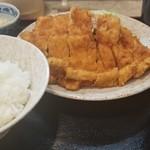 柳ばし - チキンかつ定食