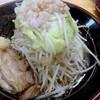 筑豊 麺道場 - 料理写真:ラーメン中(野菜、にんにく、脂、全て普通。)