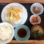 さいとう食堂 - 料理写真:金曜日は鶏天ランチ