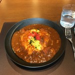 レストラン&バー ベルマルシェ - 銀座オムハヤシライス(980円)