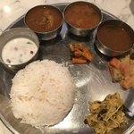 インド食堂TADKA - パパドを退けたとこ
