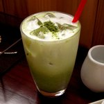 ジジカフェ - 抹茶ラテ