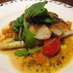 ピアット - 本日のメイン:金目鯛のポワレ香味ソース