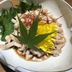 名古屋コーチン専門個室居酒屋 吉乃 - 鶏皮ポン酢