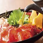 駿河丸 - 料理写真:漬けまぐろで冷やし茶漬け。  期間限定商品!お早めに