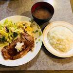 味利 - ステーキランチ(970円)