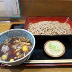 そば処 大和 - 鶏もつせいろ(800円)