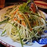 Shanhaichikinootsukashoukakurou - 担々麺 201807