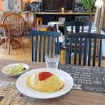 ジャックアイランド - 料理写真:2018年3月 ジャックパパのオムライスたまごIN【750円】