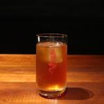 石庫門 - アイスジャスミンティー&アイス烏龍茶