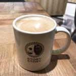 ストーリー ストーリー - カフェラテ