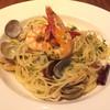 ビストロいしだ - 料理写真:魚介類のパスタ