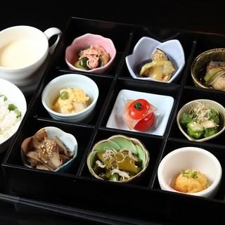 旬の京野菜をつかった料理