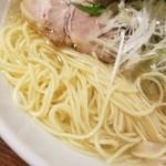 麺や ハレル家 - パツンと細麺