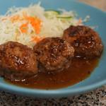 なりこま家 - 料理写真:ハンバーグ定食