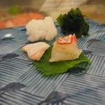Yamanaka - 鯛、平目刺身