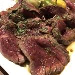 びすとろ 椿々 - 牛ランプ肉