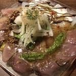 びすとろ 椿々 - 鮮魚のカルパッチョ
