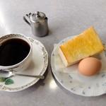 白牡丹 - 料理写真:モーニング(全体)