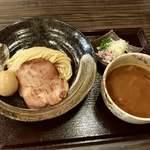 つけ蕎麦 中華蕎麦 尚念 - 濃厚つけ蕎麦・小盛り(¥800)