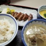牛舌の店 多津よし - 牛たん焼定食