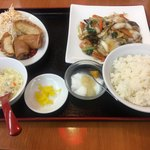 福源 - 料理写真:八宝菜定食 980円