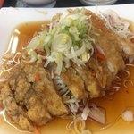 福源 - 料理写真:油淋鶏  鶏肉1枚使ってます
