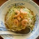 中国ラーメン揚州商人 - 黄金雲丹冷し麺