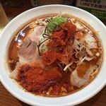 辛口炙り肉ソバ ひるドラ - 料理写真:冷やし肉そば