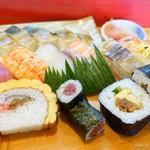 和加寿司 - 料理写真:2018年3月 上盛合せ【1220円】