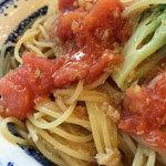天神 クッチーナ ガッキ - ワタリガニほぐし身とフレッシュトマト