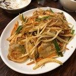 赤札屋 弁慶 - 豚のキムチ炒め