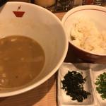 crab台風。 - +雑炊セット