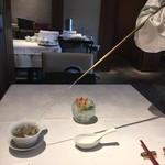 Shisentoufahansou - 茶藝師のパフォーマンス