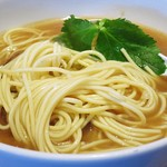 三四郎 - 煮干し中華そば麺アップ