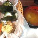 おむすび きゅうさん - レギュラーセット(570円)