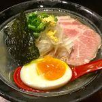 のだ麺 ~縁~ - 「豚冷塩出汁そば」(880円)。