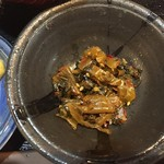 いくら家 丼 - 辛子高菜