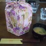 ほっとすていしょん比良 - 里山弁当(800円)