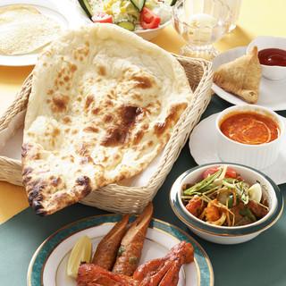 宴会コース本格インド料理飲み放題コース3.500円