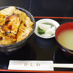レストハウスかしわ - 豚丼(大盛)