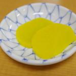 ぱんちょう - 香の物