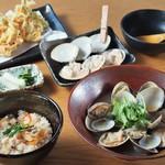 はまぐり庵 - 平日限定【ランチ】はまぐり御飯と貝汁膳