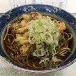 遠野屋 - 料理写真:小柱かき揚げそば(¥420)