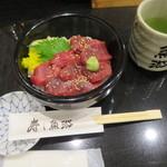 魚游 銀座店 - 鉄火丼@580円(税抜き)